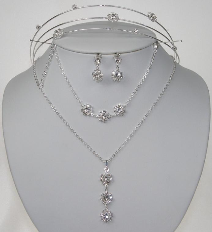 Soupravy bižuterie - Lehké štrasové šperky -  5804-0022+5802-0096+5803-0042+5806-0035 bf5f27bc40